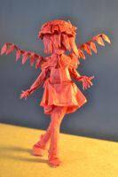 Origami Flandre Scarlet by TimsOrigami
