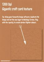 DeadCaL's Gigantic Card Textures - Light Brown by deadcal