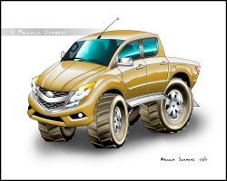 Mazda BT50 by malsem