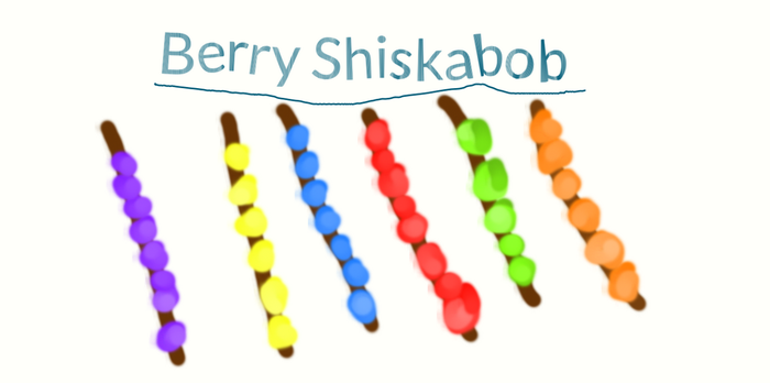 Berry Shish kabob by ShinyForests