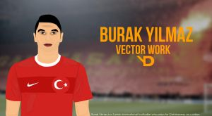 Burak Ylmaz Vector WORK by bluezest1997