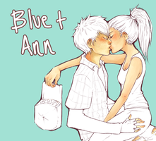 HM Magical Melody: Blue x Ann by roolph