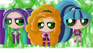 The Dazzlings by SOLO-BANANA