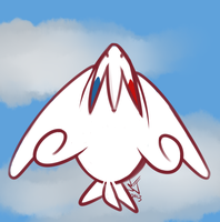 Togekiss Soaring by SpookyScreamz