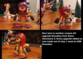 SA2 All upgrade Knuckles custom by DominicSega123