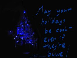 Blue Christmas by TheSkyWolves