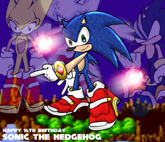 Happy Birthday Sonic by Blackan