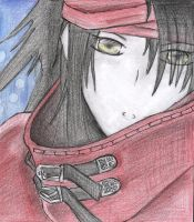 Vincent Valentine. by PlasticAchromatic
