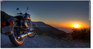 Royal enfield desert storm 25 by drkingks