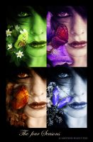 The four Seasons by Mistress-Silent