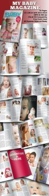My Baby Magazine Template by BALKAy