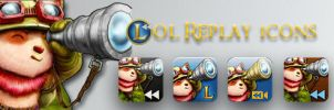 League Replays Icons by Whodiss