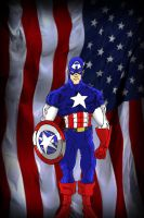 Captain America by James by VPizarro626