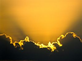 Golden Clouds by alexlacey