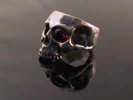 Jawless Skull Ring by Collective-Devations