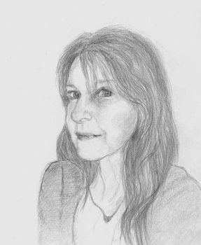 SKETCH - SELF grayscale by alivethroughart