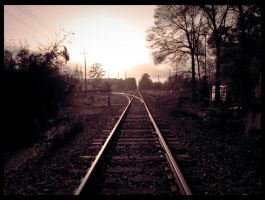 Down The Tracks by musketeergurl