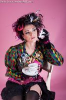 Mad Hatter Tea Party.4 by Della-Stock