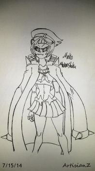 Mako M. in my style by ArtisianZ