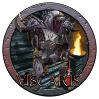 Viscaris Warcraft Character Button by BesoYT