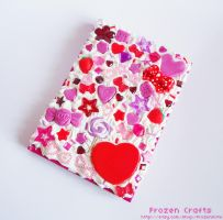 DecoDen Notebook - PINK by FrozenNote