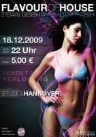 Flavour of House Flyer by razr-designs