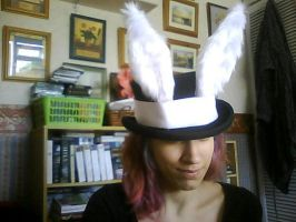 White Alice/ Will of Abyss top hat by Elfsire