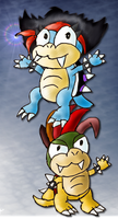 GA: Birthday Koopas by Quacksquared