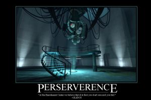 GLaDOS Motivational Poster by HerpDerpWin
