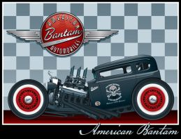 Bantam Rat Rod by yankeedog