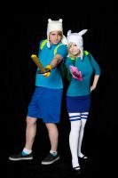Introducing: Finn and Fionna by NYAHproductions