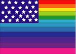 Rainbow stars and stripes by animequeen20012003