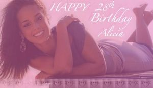 Happy Birthday Alicia Keys by Seattle-Storm