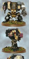 Deathwatch: Dreadnought by sketch1108