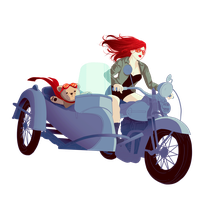 Let's go for a ride by ScarletLady