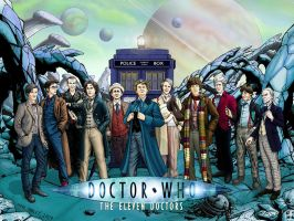 The Eleven Doctors by PaulHanley