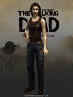 Lilly - The Walking Dead by JhonyHebert