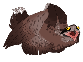 Potoo x Sloth ...Gryphon...? by Kingfisher-Gryphon