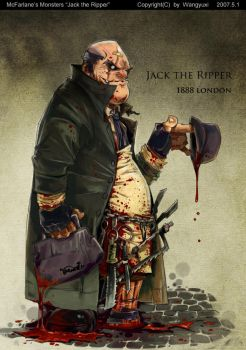 jack the ripper by Wangyuxi