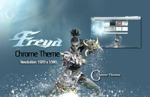 Lineage 2 Freya Chrome theme by lerat0