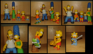 Simpsons plastilina by fsalkatras