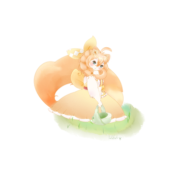 Gaiaonline Avatar: Mayviline Totally Spring Time by DoodleKnots