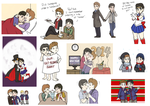 Klaine Spam - Random 9 by Geminico