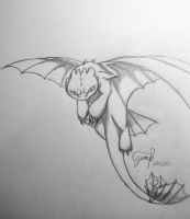 Toothless by morganwtb11