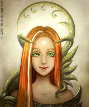 Druid witch by H-D200HB