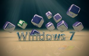Win 7 wallpaper by Paul233