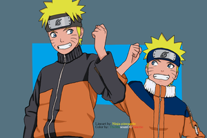 Twice the Naruto by TheMuseumOfJeanette