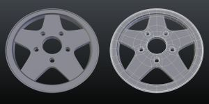 Wheel Rim - Topology Practice by Terrance8d