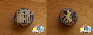 Doctor Who Polymer Clay Steam Punk Inspired Charm by MartinaEvansDesigns