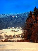 Bohemian forest winter scenery by patrickjobst